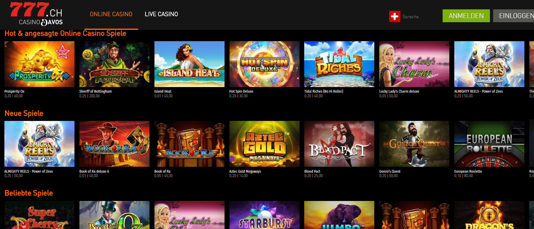 Online-Casino Deutschland